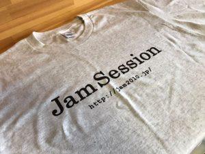 江南市 ホームページ制作 WordPress 株式会社ジャムセッション 10周年記念 Tシャツ
